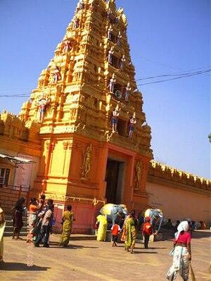 Kondagattu - Image: Kondagattu temple near Karimnagar, India