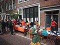Koningsdag in Amsterdam, Bloemgracht foto 3.JPG