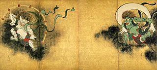 <i>Wind God and Thunder God</i> (Kōrin)
