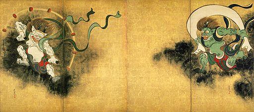 Korin Fujin Raijin