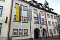 Krakeelia-Fahne vorm Waldkircher Rathaus.JPG