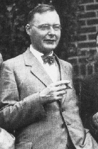 Hans Kramers - Image: Kramers 1928