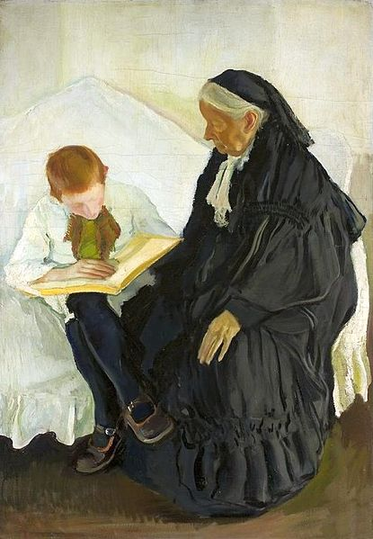 File:Krzyżanowski Grandma and grandson.jpg