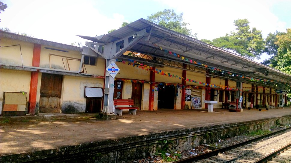 Kundara railway station, Aug 2015
