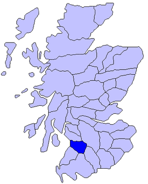 Kyle, Ayrshire - Image: Kyle (district)
