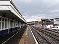 Kyle of Lochalsh railway station, Ross and Cromarty - Platform 2 view north.jpg
