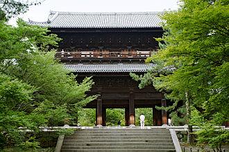 Nanzen-ji - The sanmon, the main gate of Nanzen-ji