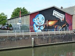 Kyteman - Kyteman's studio on the Utrechtse Vecht.