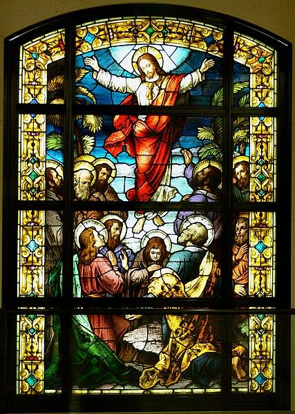 Vitrail de la Cathédrale Notre-Dame-des-Anges de Los Angeles