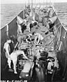 LCM used as a diving station loaded with divers and gear, Bikini Atoll, 1947 (DONALDSON 93).jpeg