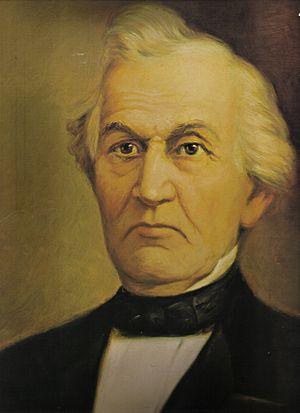 David Whitmer - Portrait of David Whitmer by Lewis A. Ramsey