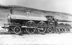 LNWR Greater Britain Class - LNWR No. 2053 Greater Britain