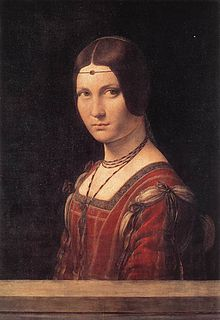 lady-in-waiting; mistress of Ludovico Sforza