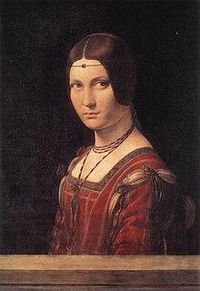 Lucrezia Crivelli lady-in-waiting; mistress of Ludovico Sforza