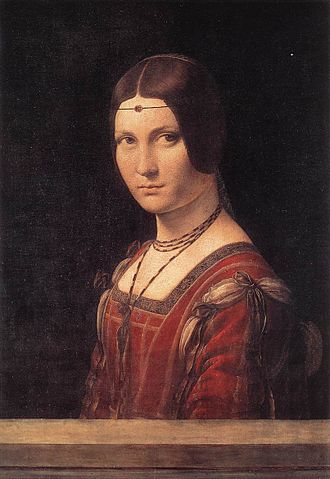 Joseph Duveen, 1st Baron Duveen - La belle ferronnière, by Leonardo da Vinci; the authenticity of another version of this painting was questioned by Duveen.