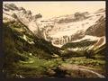 La Cirque and waterfall, Gavarnie, Pyrenees, France-LCCN2001698637.tif