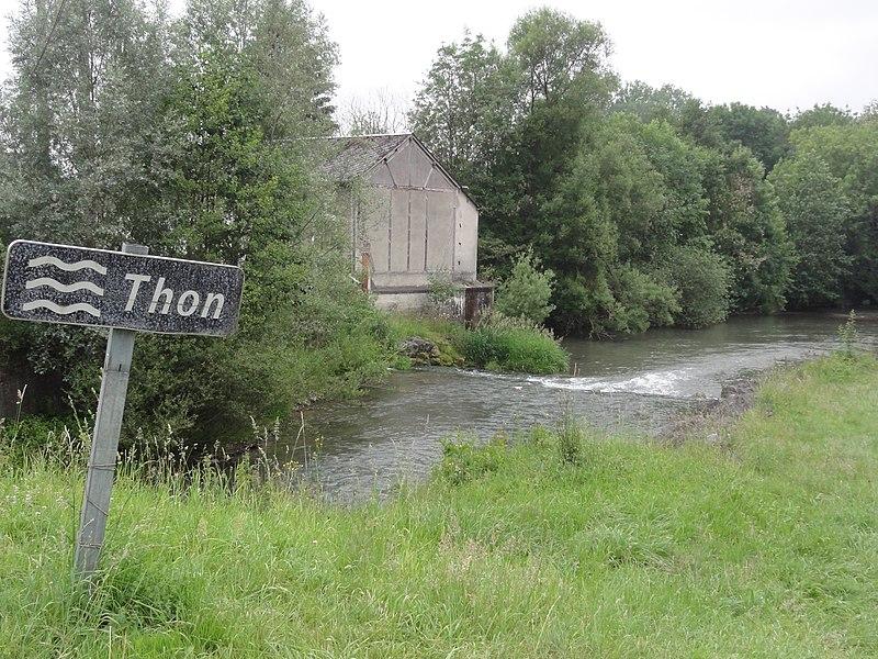 La Hérie (Aisne) Le Thon (rivière)