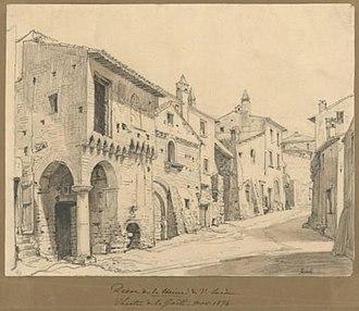 La Haine (drama) - Image: La Haine, décor, 1874 1