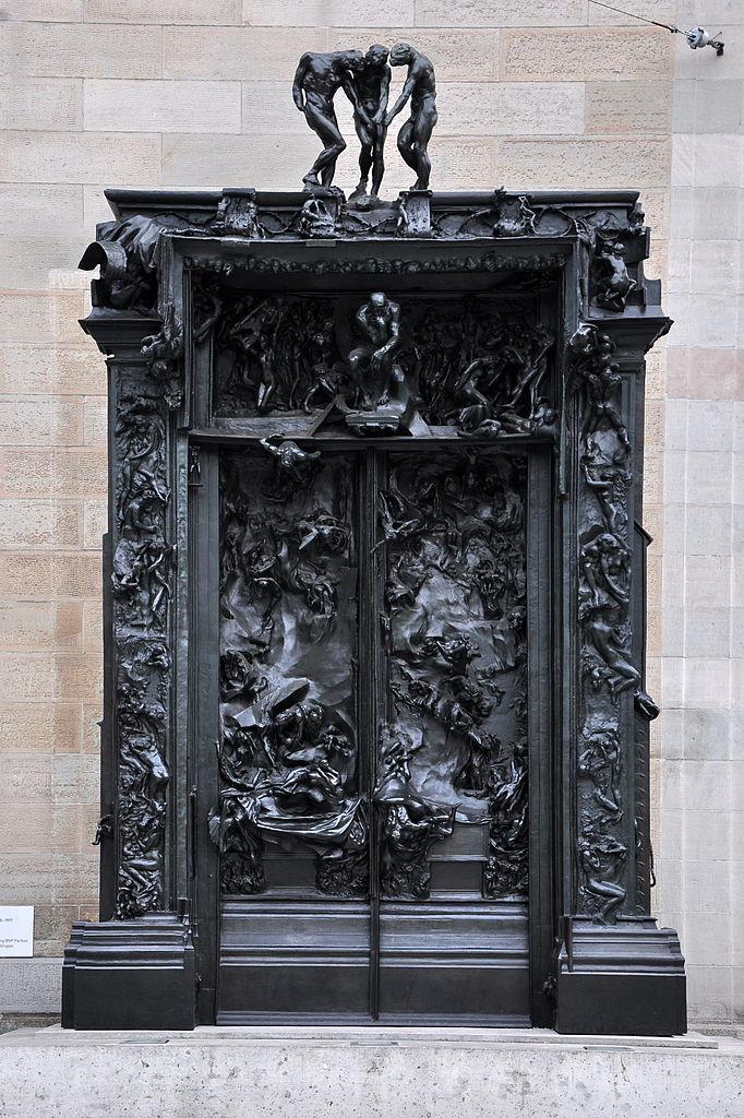 File la porte de l 39 enfer kunsthaus 2010 08 17 19 25 54 wikimedia commons - La porte de l enfer rodin ...