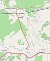 La línea desde la estación de Íllora-Láchar a la Azucarera de Láchar (superimposed onto OpenStreetMap).jpg