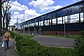 La nouvelle tribune en verre du stade de l'ancien Crossing de Schaerbeek (26157237280).jpg