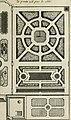 La theorie et la pratique du jardinage - , comme sont les parterres, les bosquets, les boulingrins, &c. - contenant plusieurs plans et dispositions generales de jardins, nouveaux desseins de parterres (14596881069).jpg