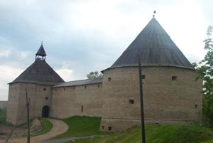 Swedish–Novgorodian Wars - The fortress of Ladoga was built in stone in the 12th century and rebuilt 400 years later.