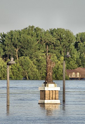 Burlington, Iowa - Lady Liberty of Burlington
