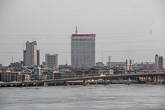 Lagos Lagoon - Image: Lagos Lagoon, Nigeria 01