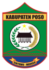 The official seal of Poso Regency
