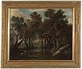 Lampimaisema (kopio Ruysdaelin mukaan), Painting by an Unknown Artist.jpg