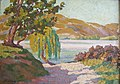 Landscape, New Zealand, Roland Hipkins, c.1935,.jpg