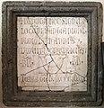 Lapide del ritrovamento della mandibola di san giovanni battista, 1376.jpg