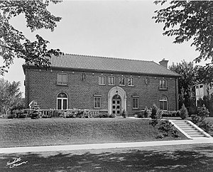 Jacques Benedict - Image: Large, brick residence at 4050 Mt. View Blvd., Denver, Colorado, designed by architect Jacques Benois Benedict