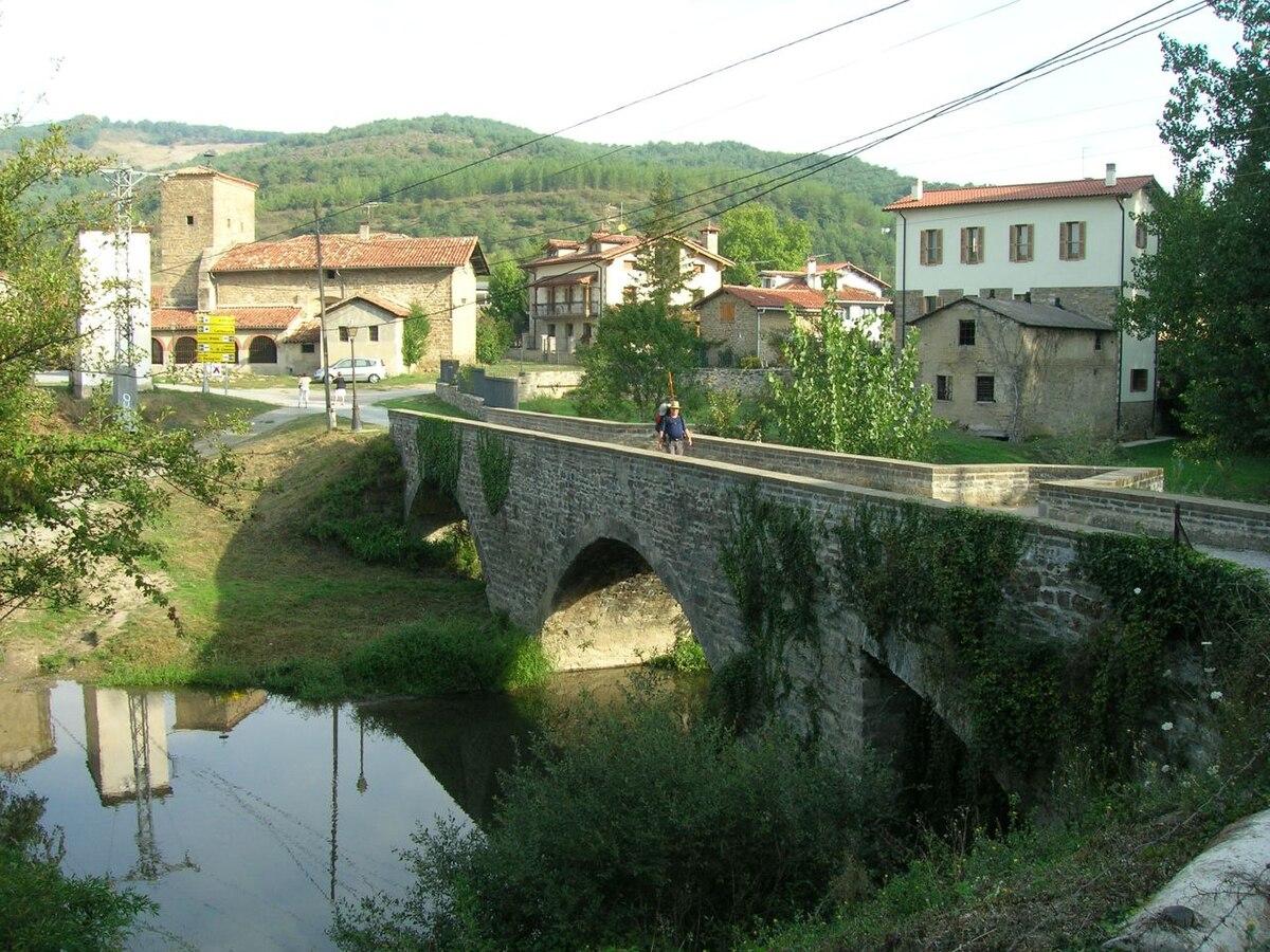 Puente de Larrasoaña - Wikipedia, la enciclopedia libre