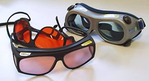 Laser safety - Laser goggles