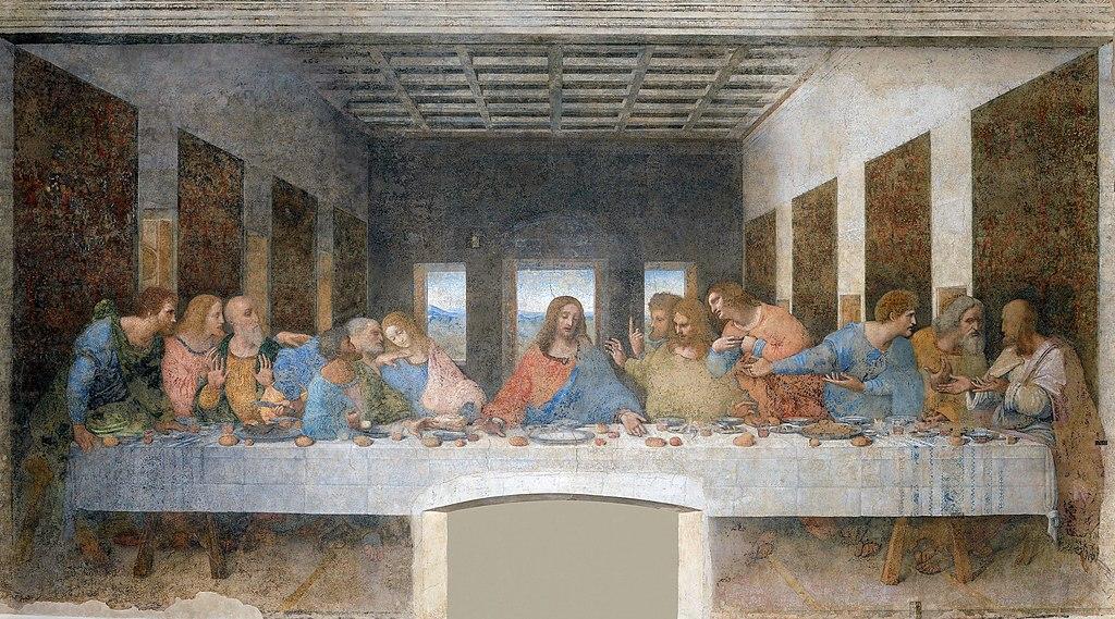 최후의 만찬 (레오나르도 다빈치, 1495~1498년)