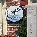 Laughlin funeral home 222 Washington Rd Mt Leb plaque jeh.jpg