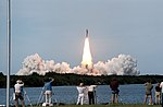 Launch of STS-51-F (ground view) (51f-s-061).jpg