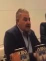 "Laureano Oubiña presenting his book, ""Oubiña, toda la verdad"".png"