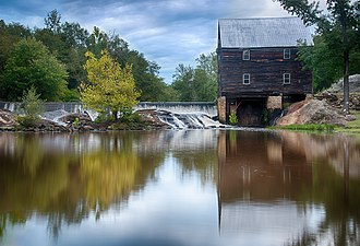 Laurel Mill and Col. Jordan Jones House - Laurel Mill, September 2012