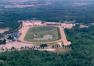 Laurel Park (race track) - Image: Laurel Racetrack 1998
