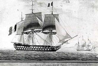 French ship Bucentaure - Bucentaure