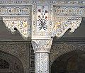 Le Musammam Burj (Fort Rouge, Agra) (8514216374).jpg