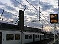Lea Bridge station - first trains, Sunday 15 May 2016.jpg