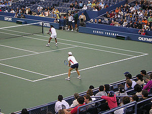 Leander Paes - Leander Paes and Martina Navratilova pairing up in a mixed doubles event
