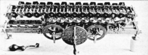 Calculus ratiocinator - Image: Leibniz Stepped Reckoner mechanism