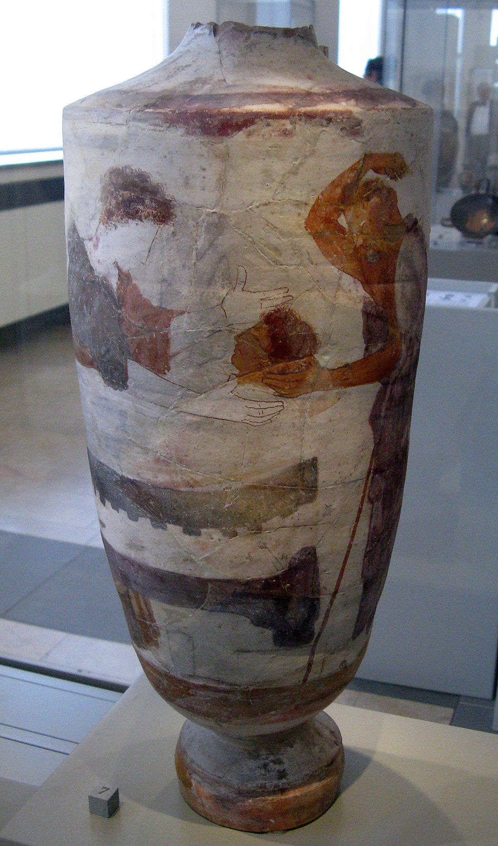 Lekythos by the Group of the Huge Lekythoi Antikensammlung BerlinF 2684 (1)