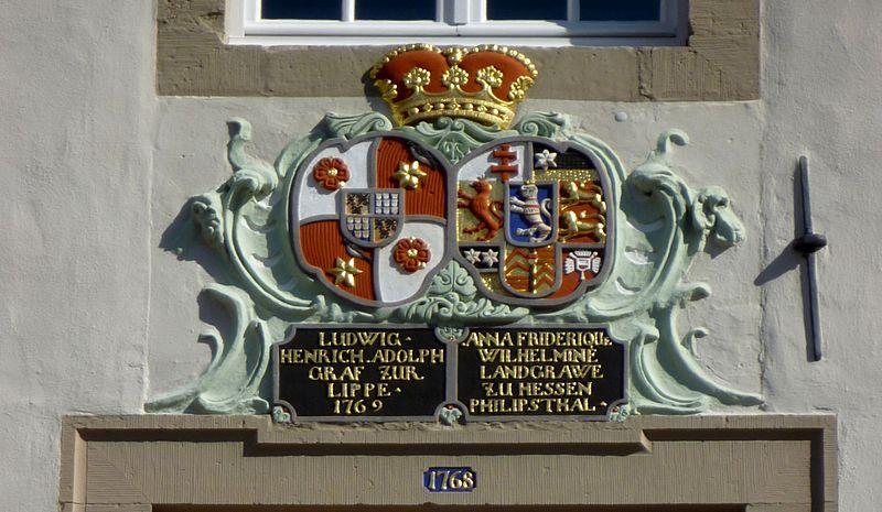 File:Lemgo - Wappen der Alten Abtei 1769.jpg