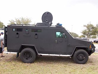 Lenco BearCat - Lenco BearCat owned by the Lee County Sheriff's Office (Florida) SWAT team